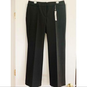 NWT LOFT Petite Julie Trouser in Black